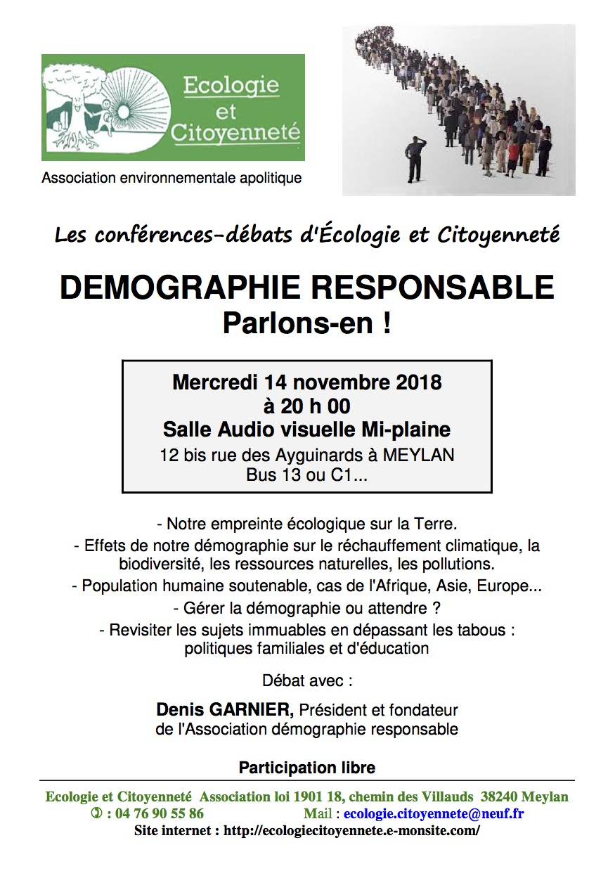 Affiche re union publique de mographie c